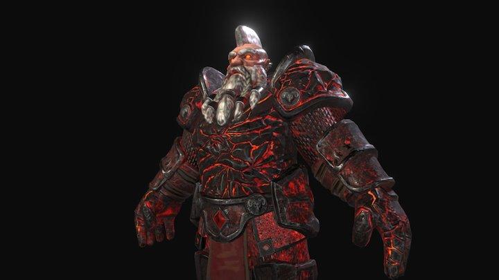 Cursed Dwarf 3D Model