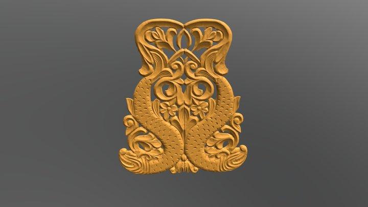 Scan ornament 3D Model