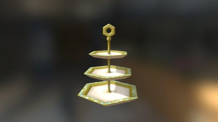 High Tea Stand 3D Model