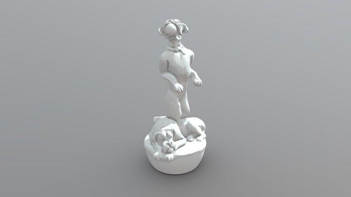 Boxers 3D Model