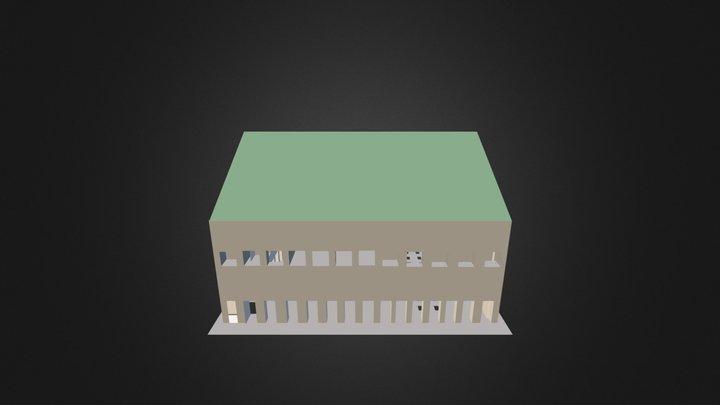 Bulding Sqetch Up 3D Model