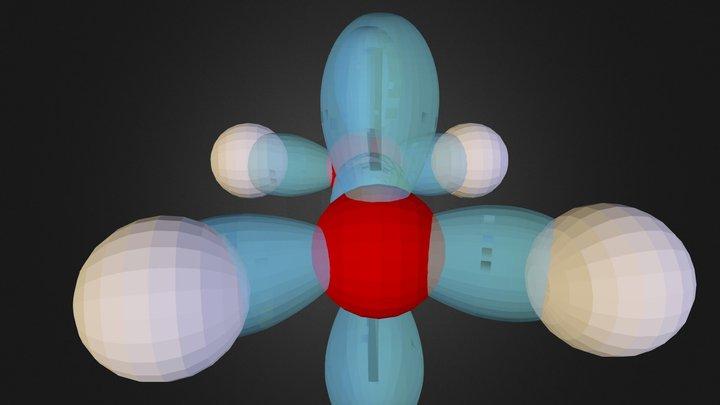 Ethylene 3D Model