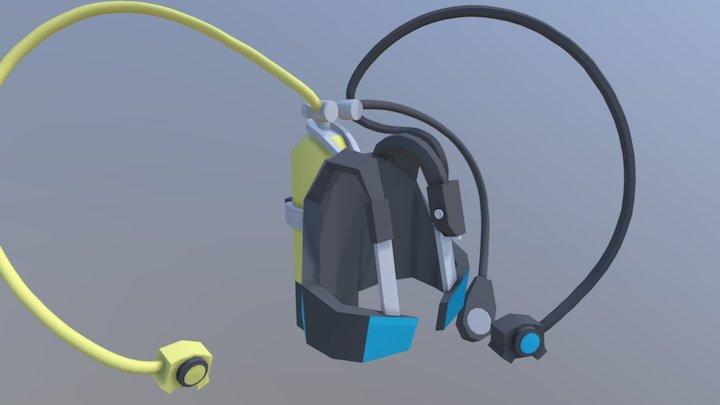 Scuba equipment 3D Model