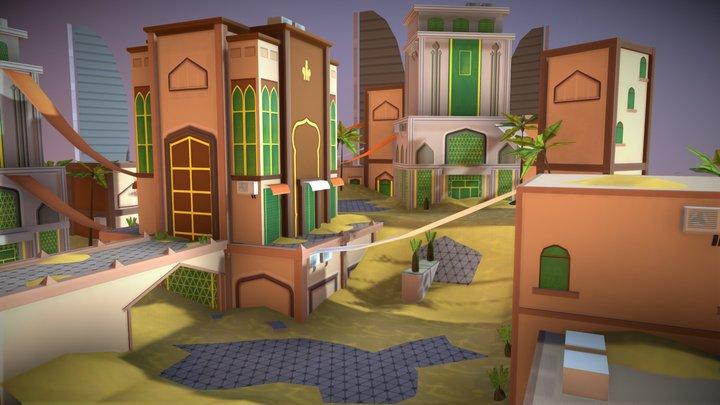 Sand Dubai 3D Model