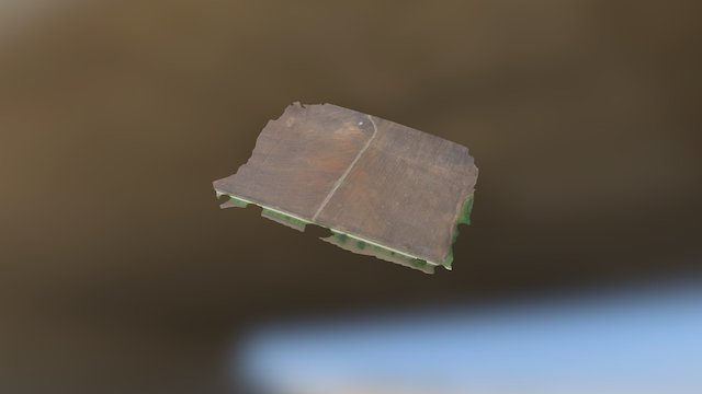 Drone Row Counting Fail! 3D Model