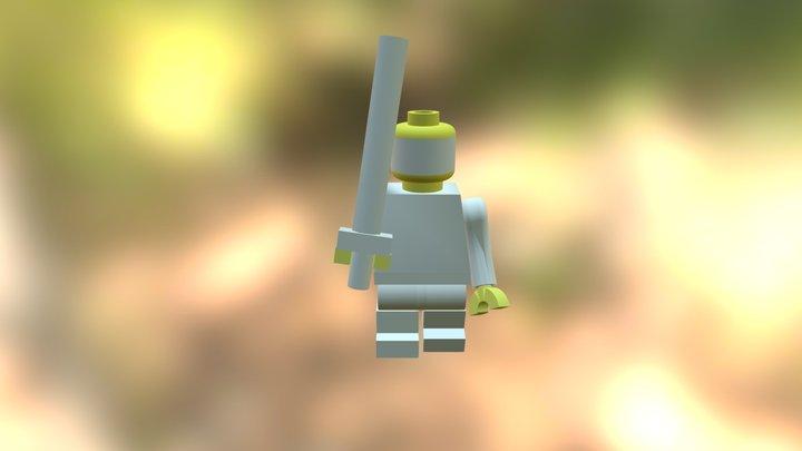 Improve Lego Assmbly 3D Model