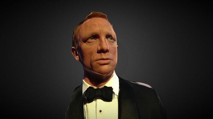 Daniel Craig as James Bond 3D Model