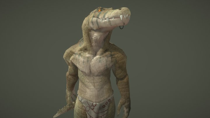 Crokodan Texture (re-upload) 3D Model