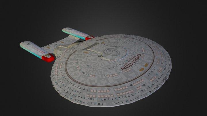 USS Enterprise 3D Model
