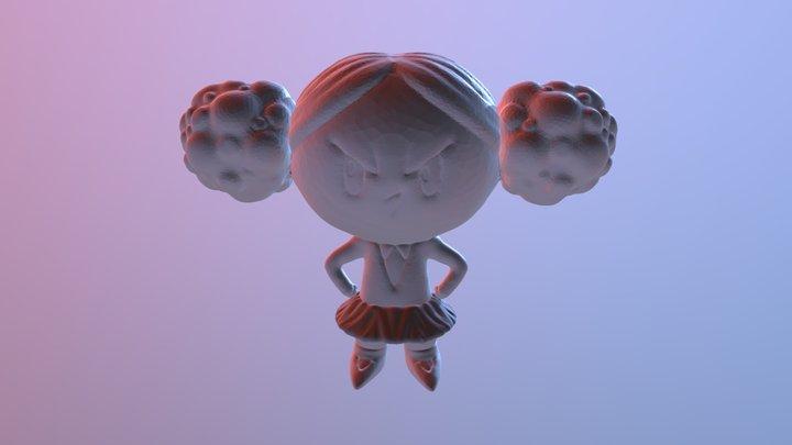 SculptJanuary Day 04: Rotten 3D Model