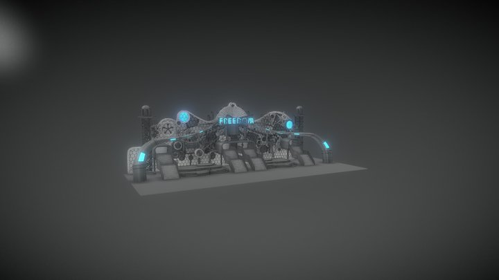 Tomorrowland Stage - 4/26 3D Model