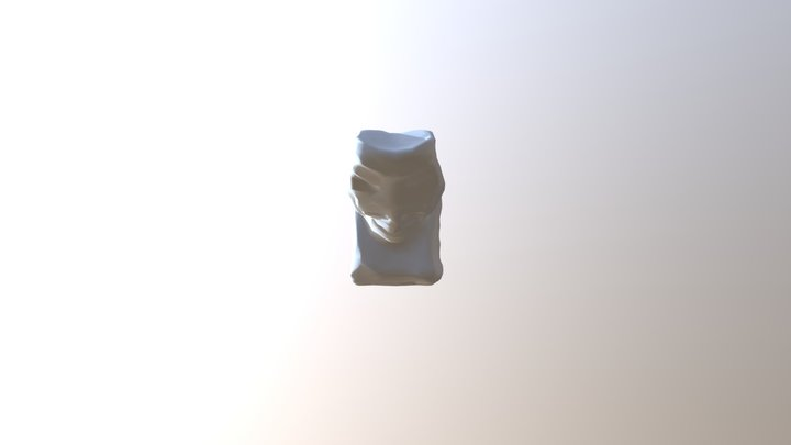 Easter Island Statue LowPoly 3D Model