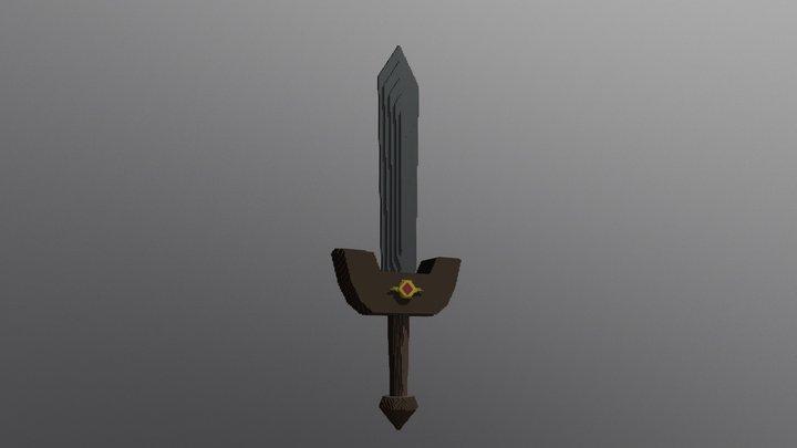 Oo T - Kokiri Sword 3D Model