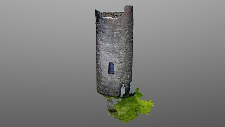 Oughterard_Tower 3D Model