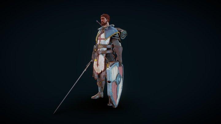 Wandering Templar 3D Model