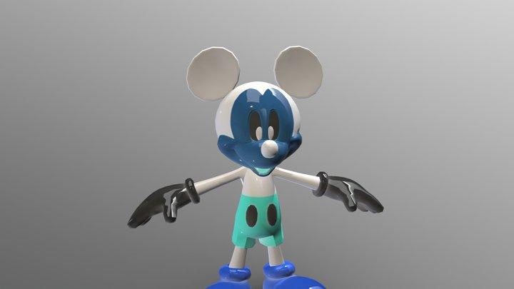 Photo negative mickey 3D Model