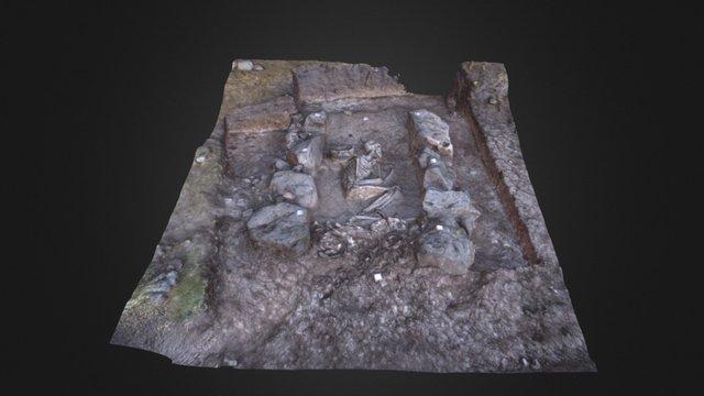 Dzedzvebi, Grave 6 3D Model