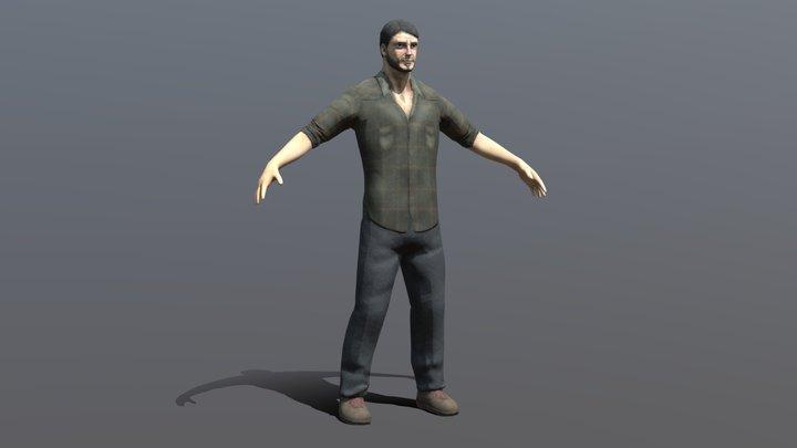 'The Last of Us' - Joel 3D Model
