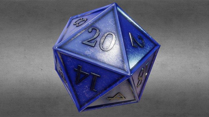 D20 (Dice) OUTDATED! -> See description 3D Model