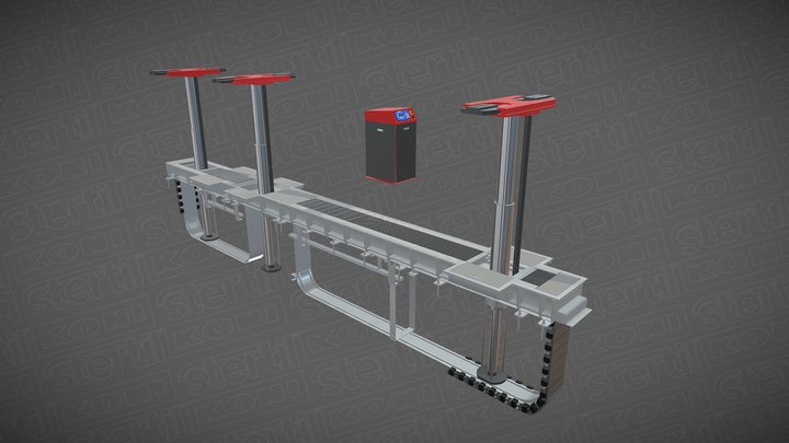 Diamondlift DW 3D Model