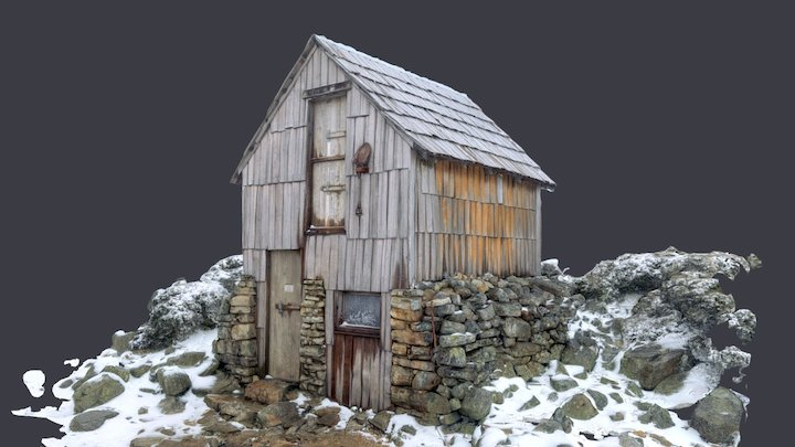 Kitchen Hut 3D Model