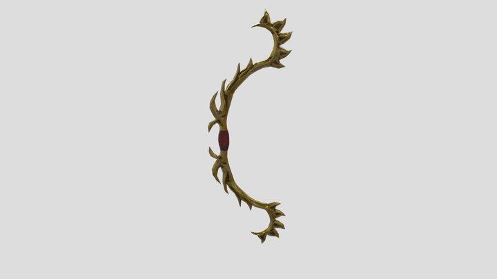 Metal Bow 3D Model