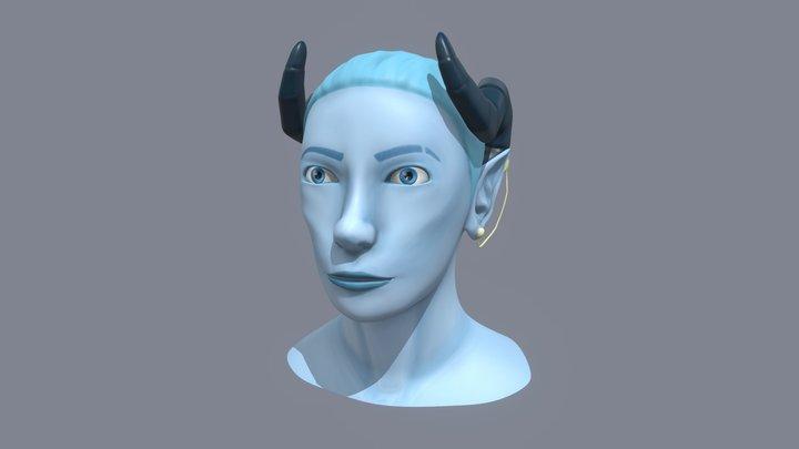 Face Highpoly 3D Model