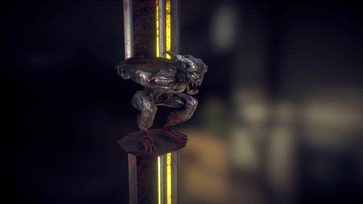 The Devil's Column (PBR) 3D Model