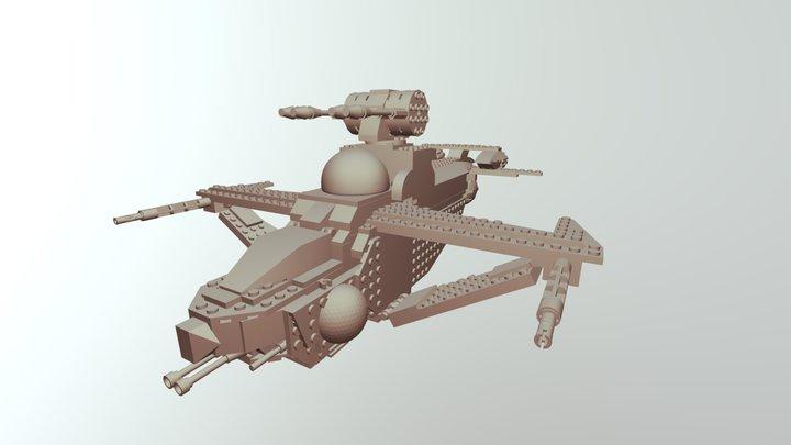 Valkyrie Export 3D Model