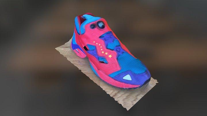 Seene Full 3D Capture - Reebok Pump Fury 3D Model