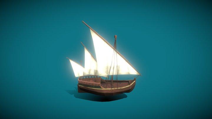 Pirate Ship 1 3D Model