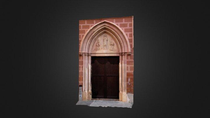 Puerta Iglesia 3D Model
