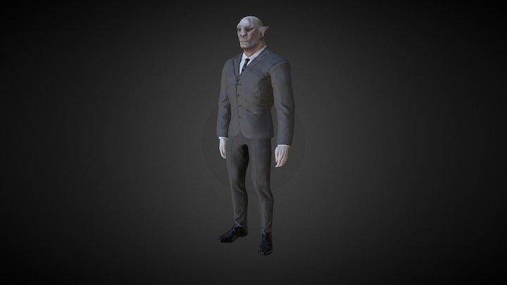 Orc Test 3D Model