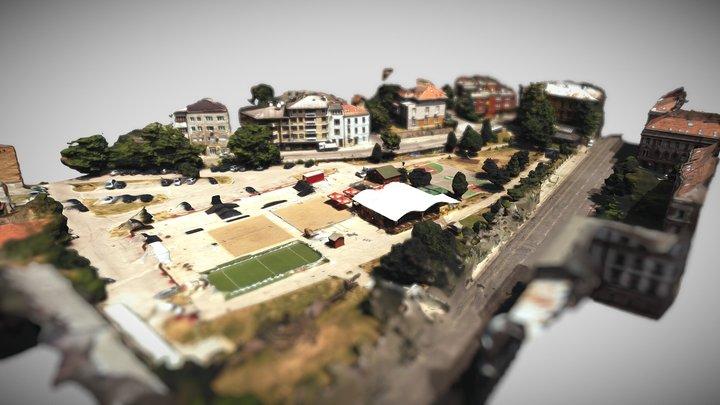 Hastahana, Sarajevo 3D Model