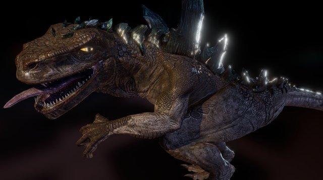 1998 Godzilla 3D Model