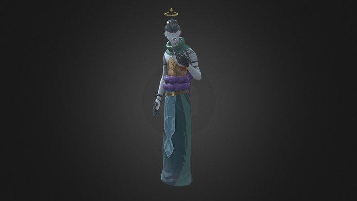 AncientDemon 3D Model