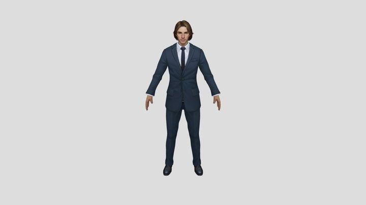 SuitGuy 3D Model