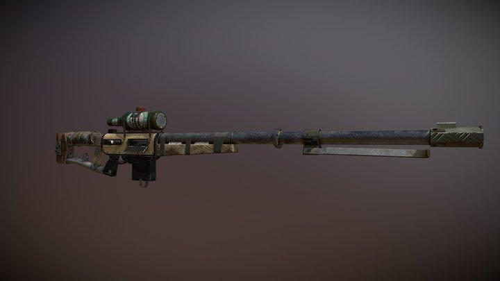 Junker Sniper Rifle 3D Model