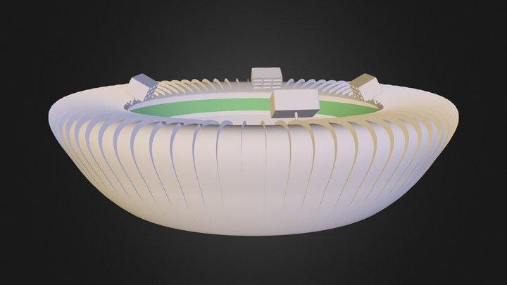 Estadio Copa NFT 3D Model