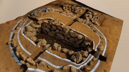 Suchonri Tombs #1 3D Model