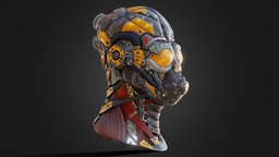 Sci_Fi head 3D Model