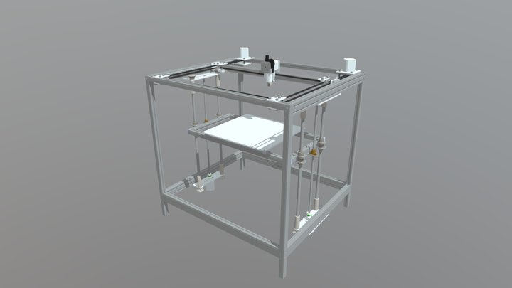 3D-printer platform 3D Model