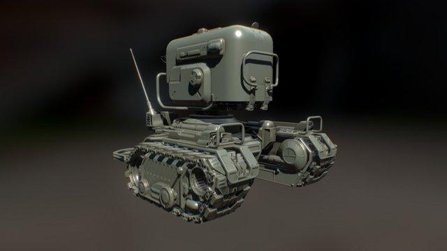 Sentry Baked 3D Model