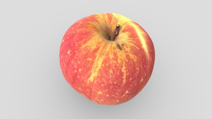 Red Apple (Raspberry HQ + Polarizing) 3D Model