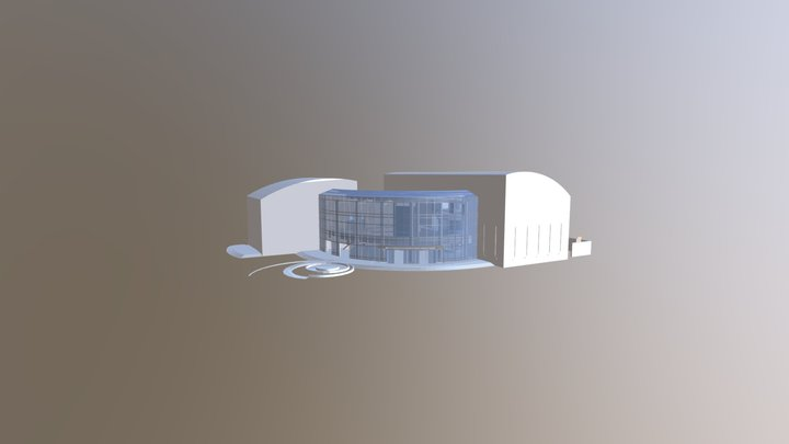 The Cable Center-2017 3D Model