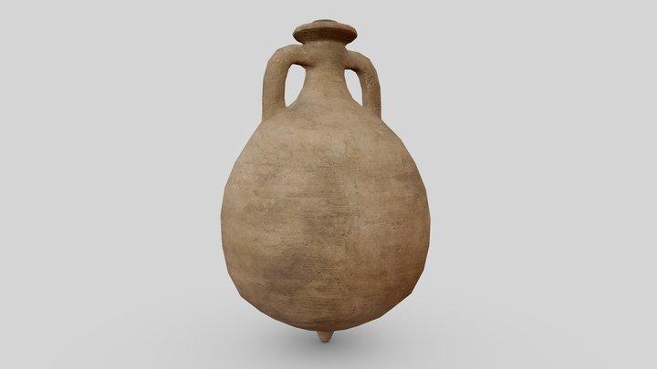 Dressel 20 Amphora 3D Model