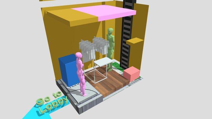 Taman Belakang4 3D Model