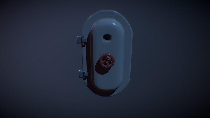 Submarine Style Door 3D Model