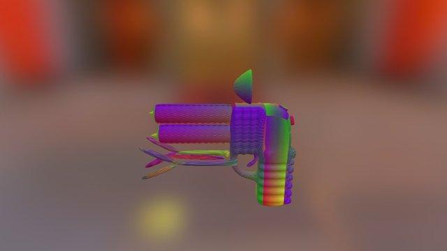 Claw-Gun 3D Model