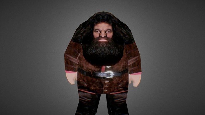 Haggord (Hagrid HD Remake Joke) 3D Model